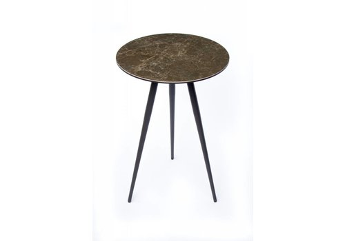 Midj | Trip Table | Black Nickel + Antracite Ceramic