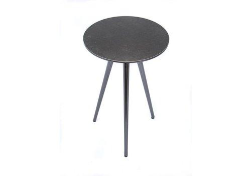 Midj | Trip Table | Black Nickel + Piombo Ceramic