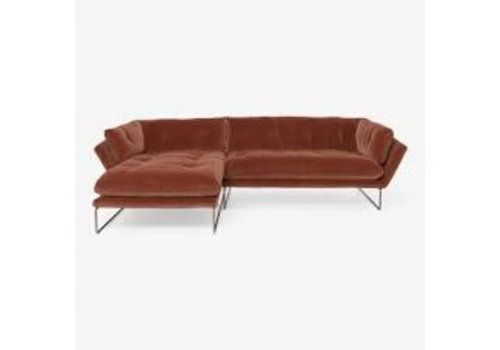 Saba | New York Sectional | Bronze Copper Frame