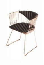 Captain Chair Copper   Black Bikini