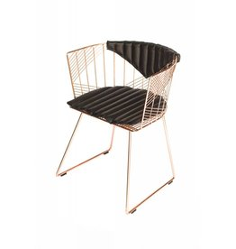 Captain Chair Copper | Black Bikini