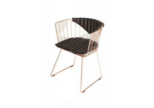 Captain Chair Copper | Black Bikini