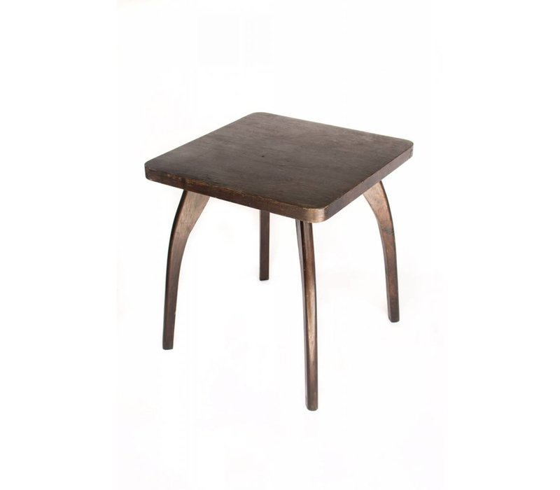 Square Wood Table Antique