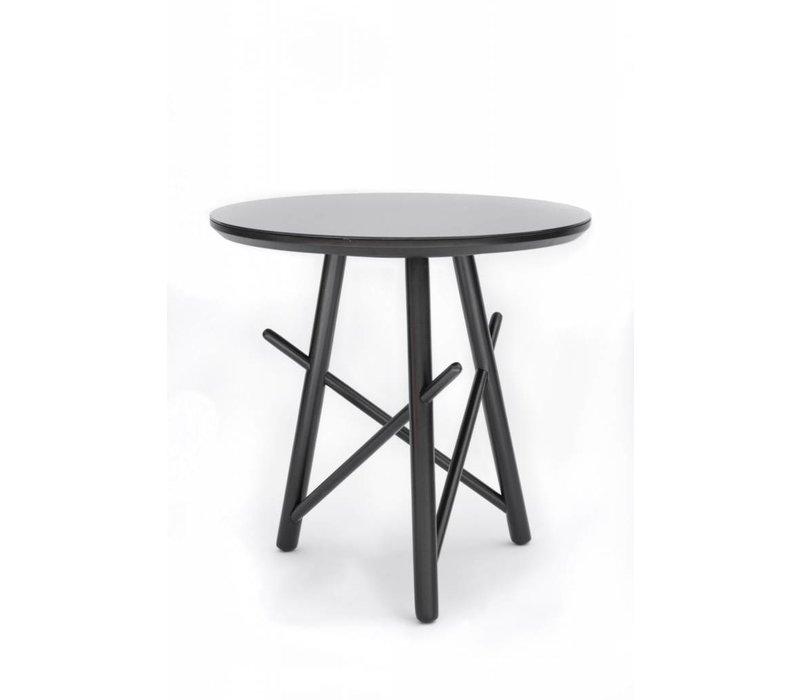Xingu Side Table | Black Oak