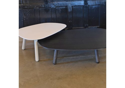 Black Steel Center Table