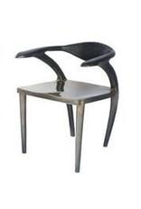Forged Bronze Dark Frame Dining Chair