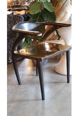 Forged Bronze Gold Frame Dining Chair