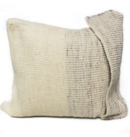 Arak Cushion | Potters Clay + Natural w insert| 19 x 19