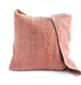 Katar Cushion | Rose +  Potters Clay w insert | 25 x 25