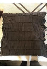 Gamma  Marilyn Leather Pillow Anthracite