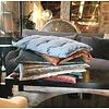 Saba Vegas Velvet Pillow 44  Grey