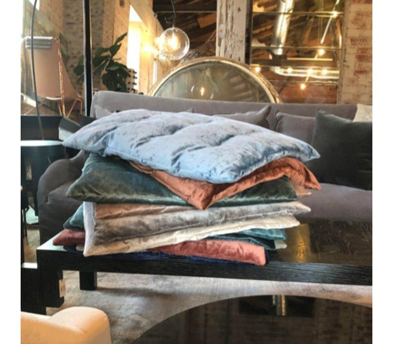 Saba|Vegas Velvet Pillow  59 Turquoise