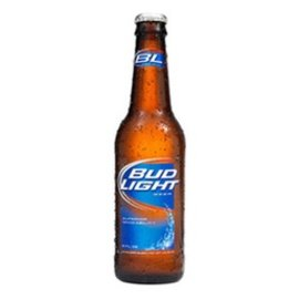 BUDLIGHT 12oz bottles 6 pack