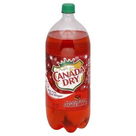 CANADA DRY Cranberry Ginger Ale 2 Liter