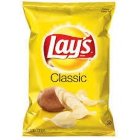 LAYS PRODUCTS CLASSIC 1 oz