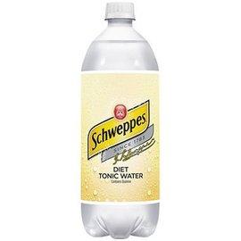 SCHWEPPES DIET TONIC WATER 1L