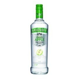 SMIRNOFF VODKA GREEN APPLE 750ml