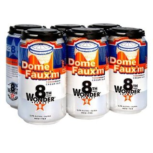 8th Wonder Dome Faux'm 12oz Cans 6 Pack