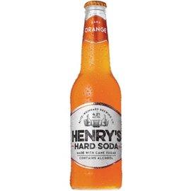 Henry's Hard Orange Soda 12oz Bottle 6 Pack