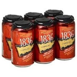Buffalo Bayou 1836 Copper ale 6 pack 12oz can