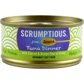 Scrumptious Tuna Red Meat Carrot/Pea - 2.8oz