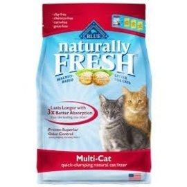 BLUE BUFFALO COMPANY BB Naturally Fresh Litter Multi-cat - 14lbs