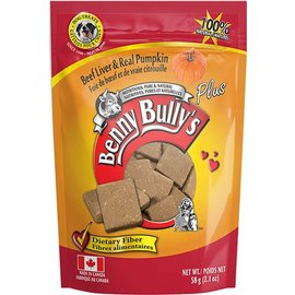 Benny Bully's Benny Bully's Beef Liver & Real Pumpkin 58g