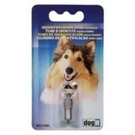Dogit Dogit Chrome ID Tube