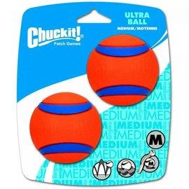 Chuckit Chuckit! Ultra Ball Med 2pk