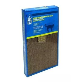 Catit Catit Scratcher with Catnip, Wide