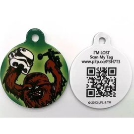 "Disney Star Wars Pet ID Tag - 1.25"" Chewbacca"