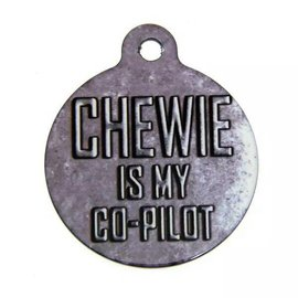 "Disney Star Wars Pet ID Tag - 1.25"" Co-Pilot"