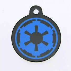 "Disney Star Wars Pet ID Tag - 1.25"" Imperial Logo"