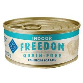 Blue Buffalo Buffalo Freedom Indoor - Fish (Pate) 5.5oz can