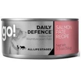 Petcurean GO! Cat Daily Defence Salmon Pate 5.5oz/156g