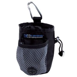 Canine Equipment Carry All Treat Bag - Black