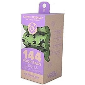 Earth Friendly Products Earth Friendly Pooh Bags - 8 Rolls Lavender Multi-Colour