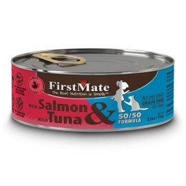FirstMate FirstMate 50/50 Wild Salmon/Wild Tuna - 5.5oz Can