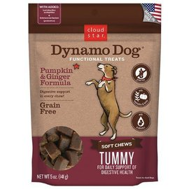 Cloud Star CS Dynamo Dog Pumpkin & Ginger Tummy - 5oz