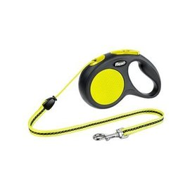 FETCH FOR PETS / BURTS BEES Flexi Neon Classic Cord S - 5m