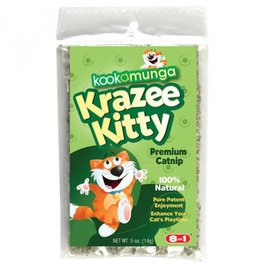 Eight in One Pet Products Kookamunga Catnip Poly Bag - 5oz