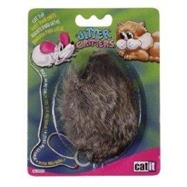 Catit Catit Longhair Furry Mouse