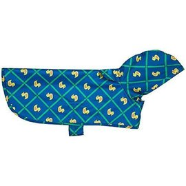 RC Pet Packable Rain Poncho - Rubber Ducky XL