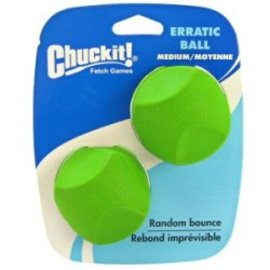 Chuckit Chuckit Erratic Ball M - 2 pack