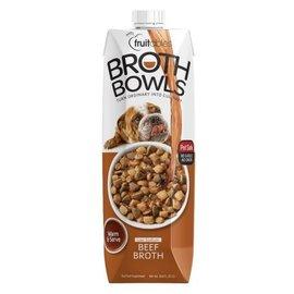Fruitables Fruitables Broth Bowls Beef - 16.9oz (Dog)