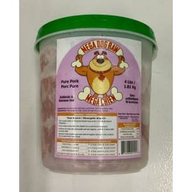 Bold Mega Dog Raw Pork Tub - 4lb