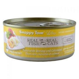 Snappy Tom Snappy Tom Lites Tuna/Shrimp/Calamari - 156g Can