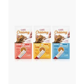 Catit Catit Creamy Treats Scallop - 5 pack