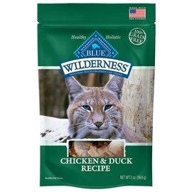 Blue Buffalo Blue Wilderness Cat Treats Chicken & Duck - 2oz