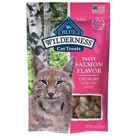 Blue Buffalo Blue Wilderness Cat Treats Crunchy Salmon 2oz